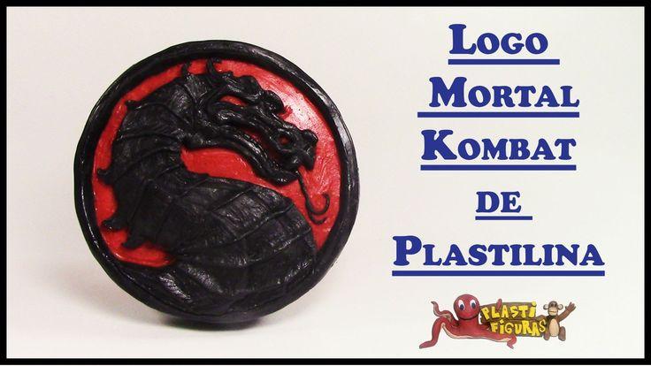 Como Hacer Logo de Mortal Kombat de Plastilina/How To Make Mortal Kombat...