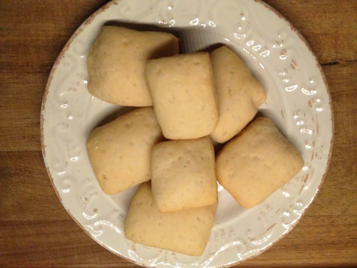 quadrotti dolci con esubero di pasta madre