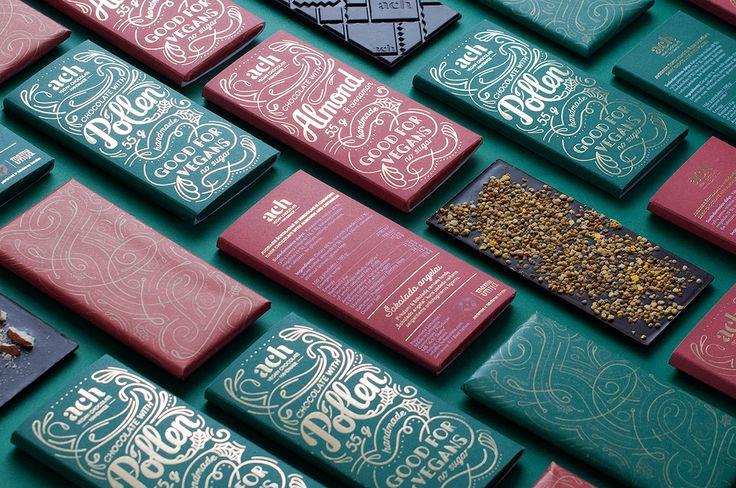 Gorgeous Vegan Chocolate Packaging — The Dieline - Branding & Packaging Design