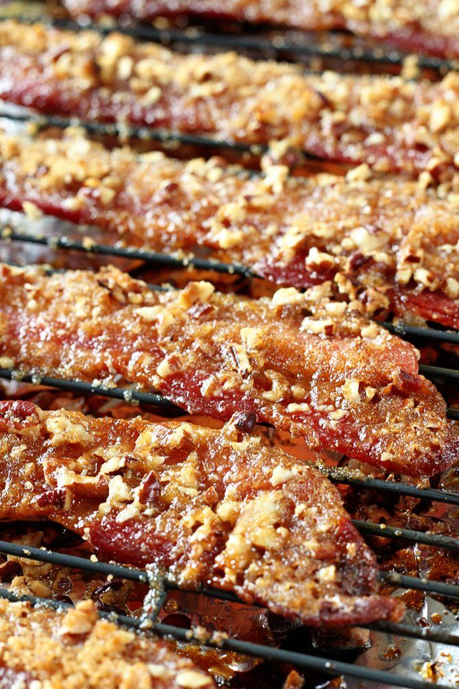 Praline Bacon | Southern Bite | You're only 3 ingredients and about 30 minutes away from Praline Bacon deliciousness!
