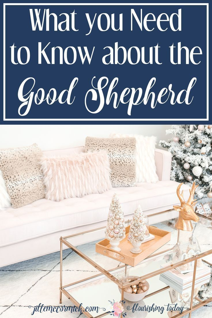 Do you know Jesus the Good Shepherd? What better way to celebrate Christmas than to get to know Him. Here's 3 things you should know about the Good Shepherd. #GoodShepherd #Jesus #Christmas