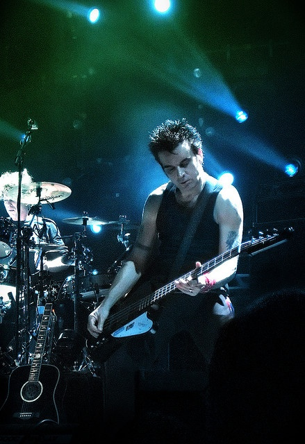 Simon Gallup - The Cure, #bassplayer http://www.pinterest.com/TheHitman14/musician-bassists-%2B/