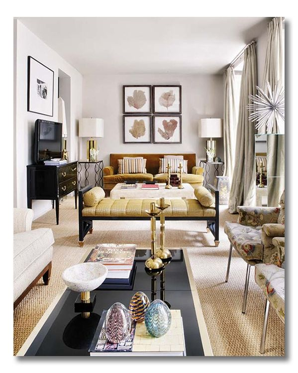Tips And Tricks From A Narrow Living Room; A Ditto Post By Fieldstone Hill  Design