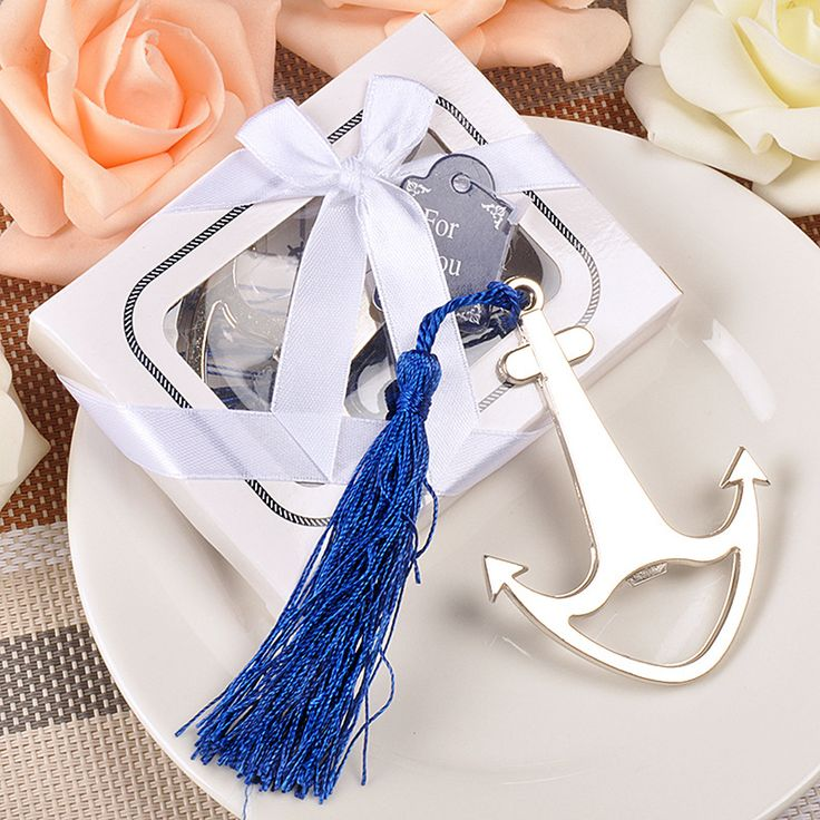 Ship Anchor Shape Stainless Steel Handy Soda Beer Bottle Cap Opener Kitchen Bar Jar Tools Gadgets Wedding Favors Gifts Presents