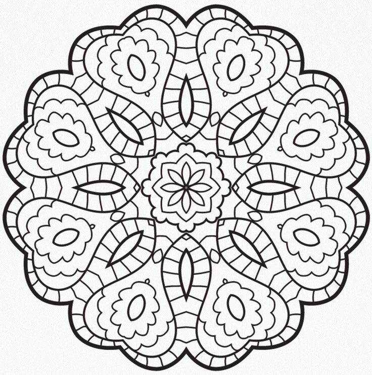 415 best Moms mandala madness images on Pinterest Colouring pages