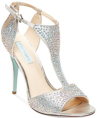 Blue by Betsey Johnson I Do Evening Sandals