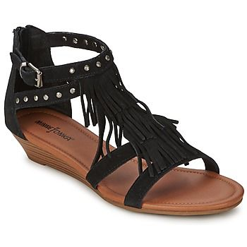 These boho chic fringe and strappy sandals by Minnetonka are perfect for summer @rubbersole ! | See more about Strappy Sandals, Boho Chic and Hiking Sandals.