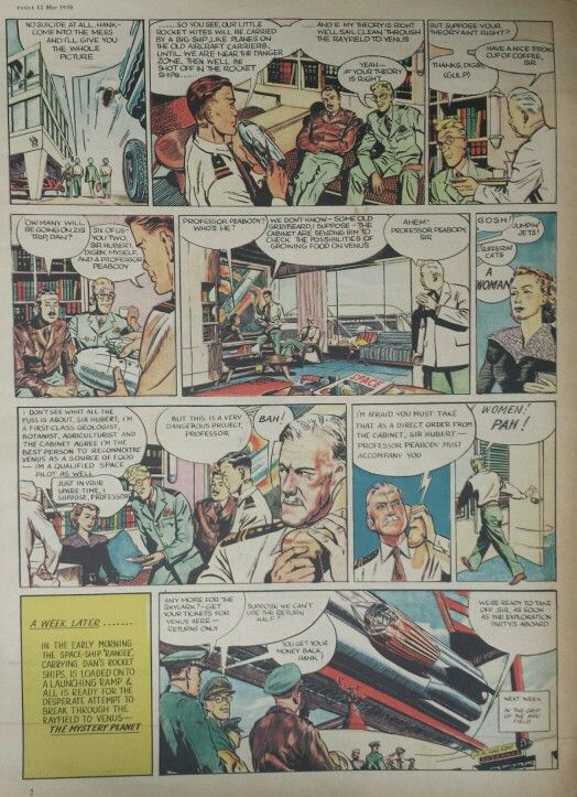 Dan Dare from Eagle Comic #5