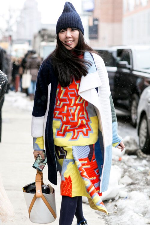 New York Fashion Week - Best streetstyle looks (12) - Elle.ro
