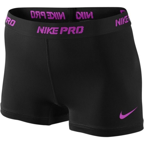 """Nike Pro 2.5"""" Compression Short Women's ❤ liked on Polyvore"""
