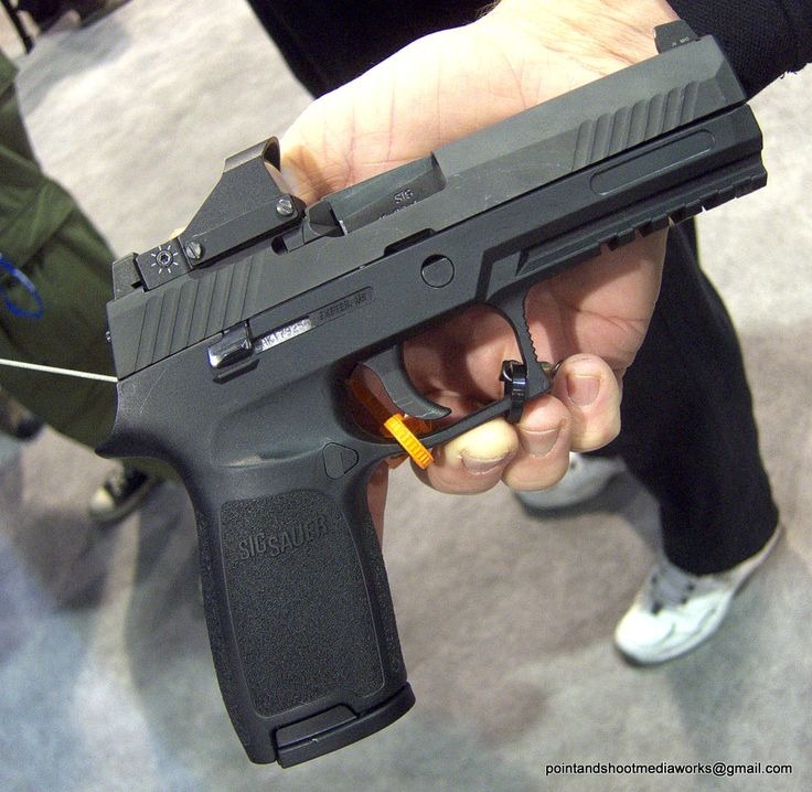 Sig 320 series with RDS - the P226 was very good, hope this one lives up to it.