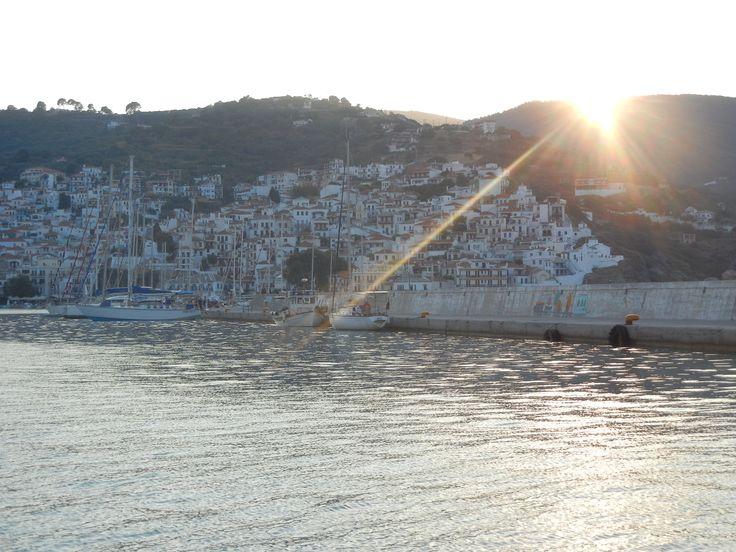 Skopelos harbor