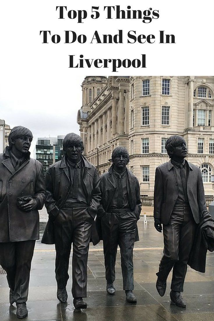 Top 5 things to see and do in Liverpool UK including Albert Dock, the Cavern Club (The Beatles) and Liverpool One