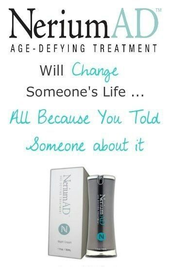 Change your skin, change your life, and change someone else's all because you told them about Nerium!! Ask me how to start !! www,isellnerium.com