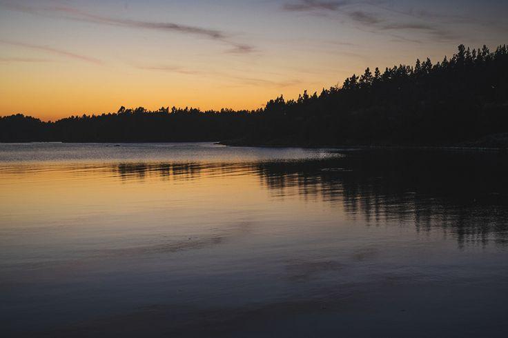 Skerries, Sweden #skerries #sweden #swedishsummer #sunset