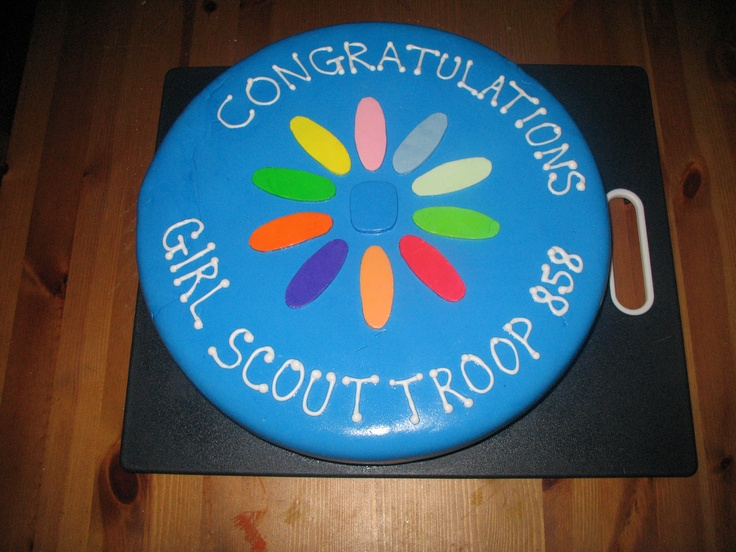 Cake Ideas For Girl Scouts : 17 Best images about Daisy Girl Scouts on Pinterest ...
