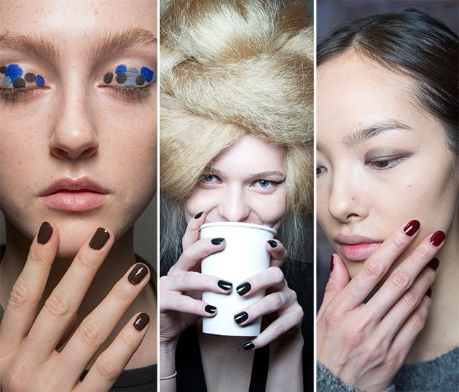 Dark and Drastic Nail Art Fall/ Winter 2015-2016 Nail Trends: Dark Nails