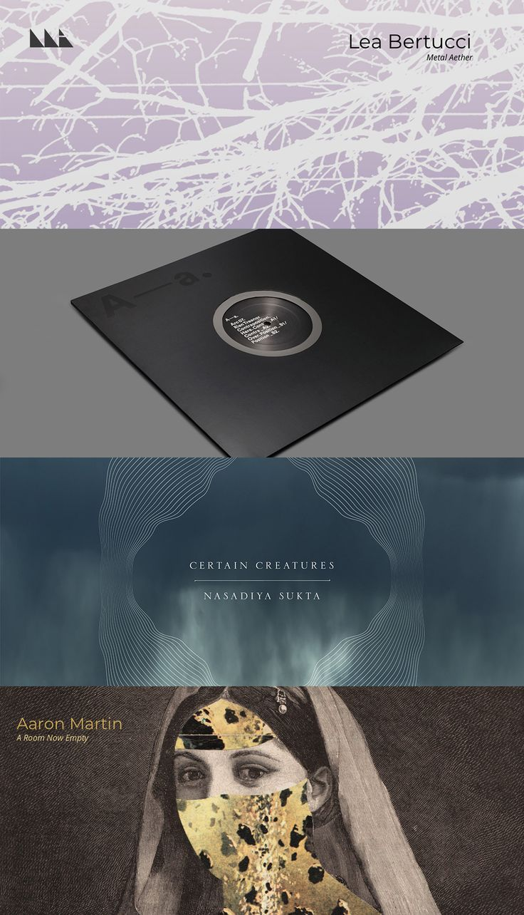 NEW// Aaron Martin, Lea Bertucci, Rian Treanor, Certain Creatures, Giuseppe Ielasi, Jon Collin, Huerco S., Soave, Brian Eno, K. Leimer, Make Noise, Cavern of Anti-Matter++