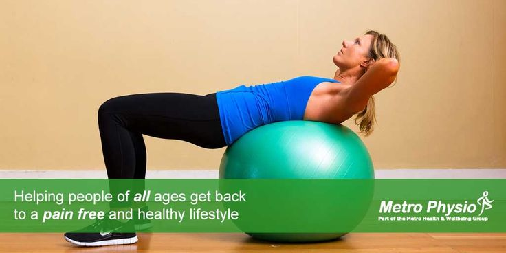 Metro Physio Helps Everyone Get Back Into Work And Sports www.metrophysio.co.uk