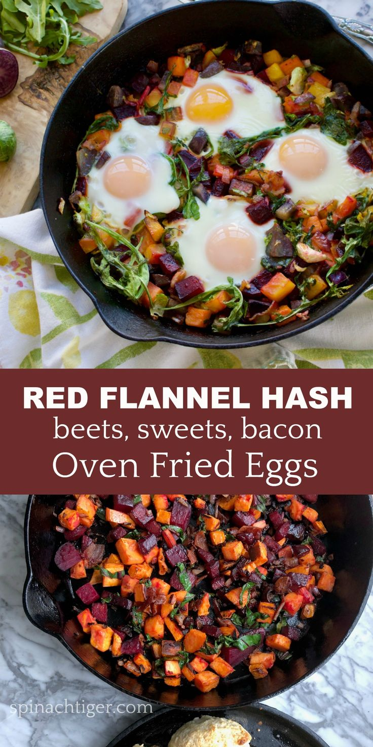Red Flannel Hash from Spinach tiger