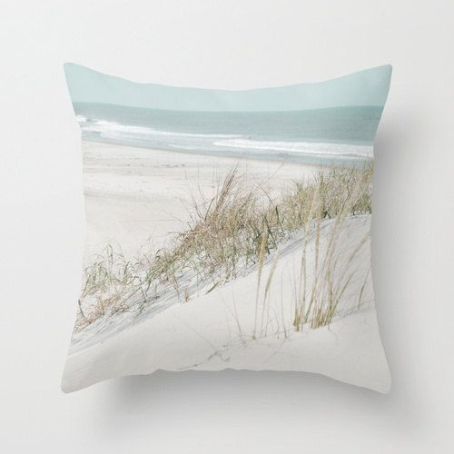 Pillow Cover Beach pillow Seaside photo by KalstekPhotography, $36.00