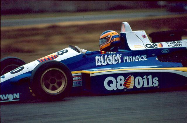 Martin Donnelly - Reynard 88D Cosworth DFV / Alan Smith - Eddie Jordan Racing - Zolder - 1988 FIA Formula 3000 International Championship, round 10