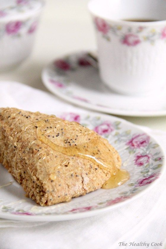 Healthy Dried Fig & Poppy Seed Scones – Υγιεινά Scones με Ξερά Σύκα & Παπαρουνόσπορο | The Healthy Cook