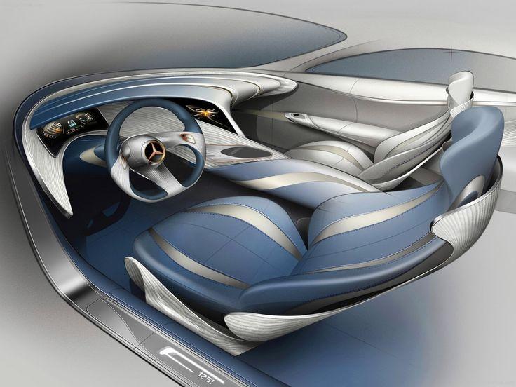 Car Interior Design Sketch
