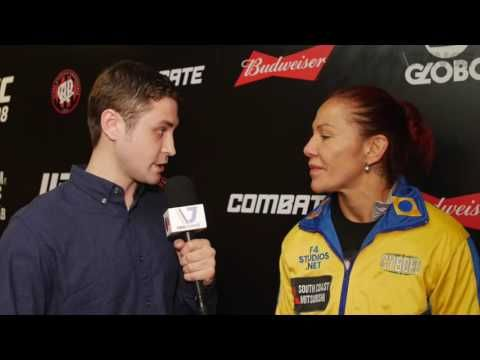 Cristiane 'Cyborg' Justino previews her octagon debut at UFC 198