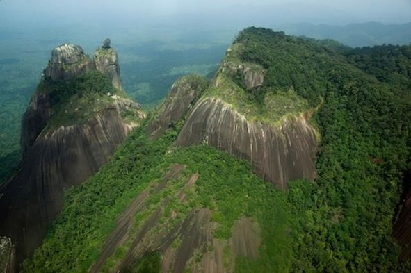 Julianatop is the highest point in Suriname at 4,199 ft (1,280 m).
