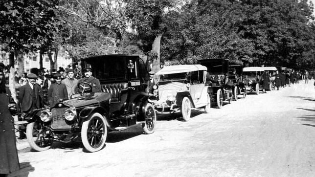Madrid 1918- taxi