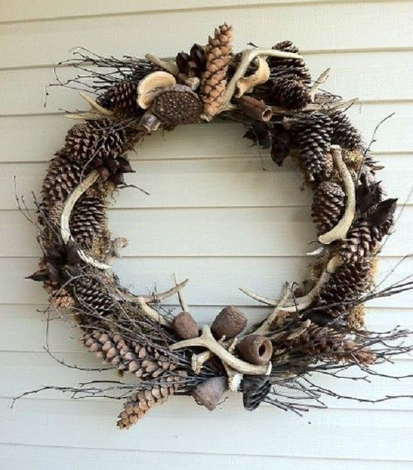 20 Magnolia Christmas Decor Ideas To Try: 20 Awesome Pieces Of Antler Art