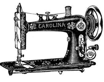 Máquina de coser del vintage tatuaje temporal por WildLifeDream