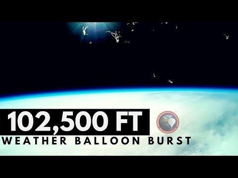GoPro Weather Balloon Burst at 102,544 FT   OLHZN-5 https://youtube.com/watch?v=lVzZyvqiOhQ