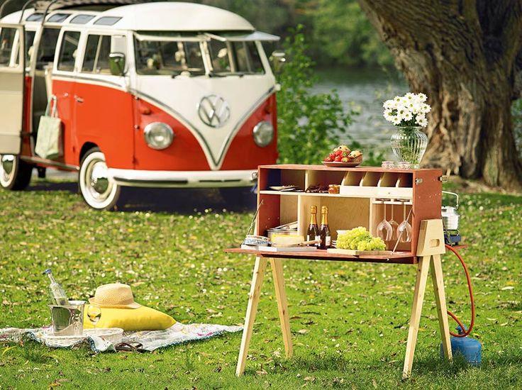 Paravent u201eCampingküche Picknick-Profi - toom baumarkt küchen