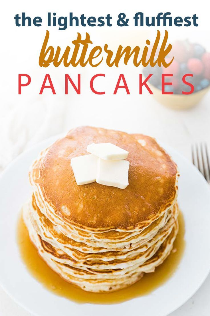 Homemade Buttermilk Pancakes Recipe Buttermilk Pancakes Buttermilk Pancakes Fluffy Homemade Buttermilk Pancakes