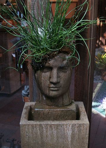 17 Best Images About Head Planters On Pinterest Gardens
