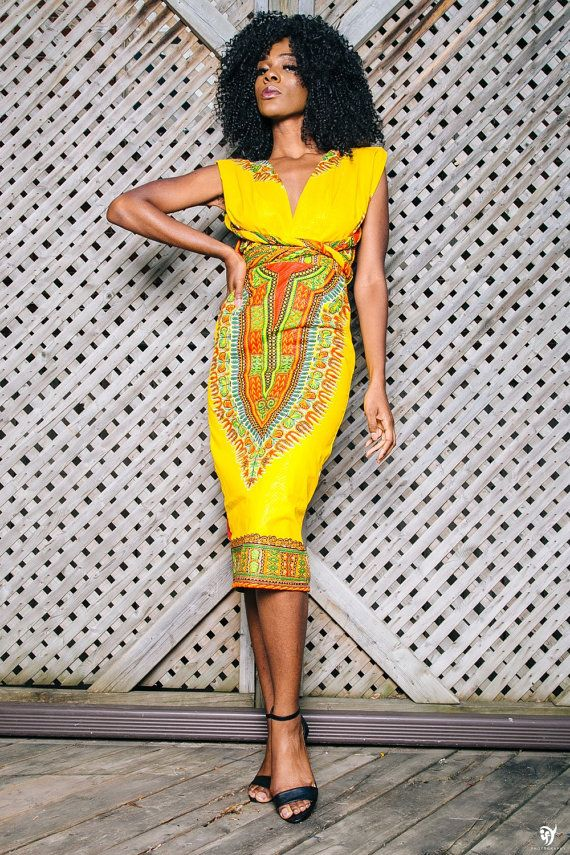 Unique Modern Kitenge Dresses18 New African Kitenge Designs This Year