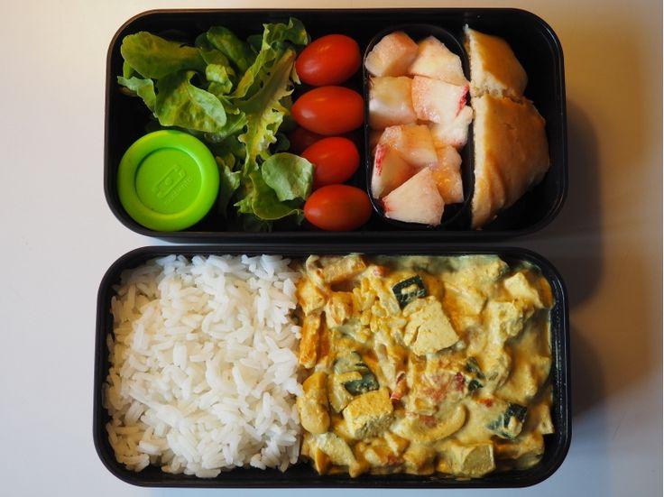 Monbento | Curry de légumes et tofu