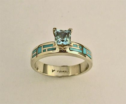 Las Wedding Rings Engagment Gold Diamond Shire Tanzanite Opal Lab Opals Truquoise Turquoise With Diamonds