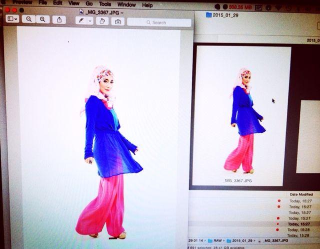 Photoshoot — Dinda Kirana