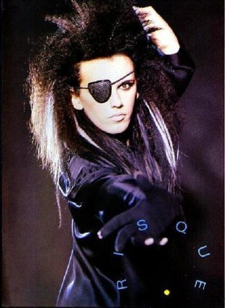 Pete Burns from Dead or Alive