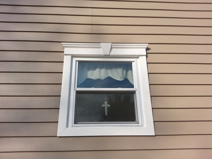 Installing trim around exterior windows home decor for Decorative window trim exterior