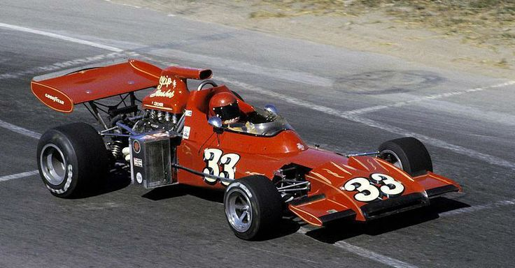 Skip BARBER - March 711 Ford Cosworth DFV - Gene Mason Racing - XII Canadian Grand Prix - 1972 World Championship for Drivers, round 11