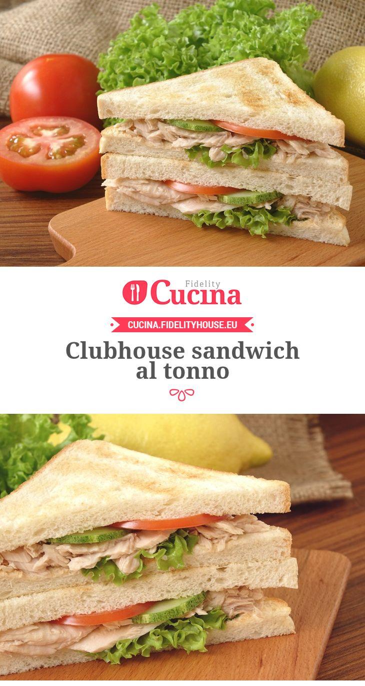 Clubhouse #sandwich al #tonno