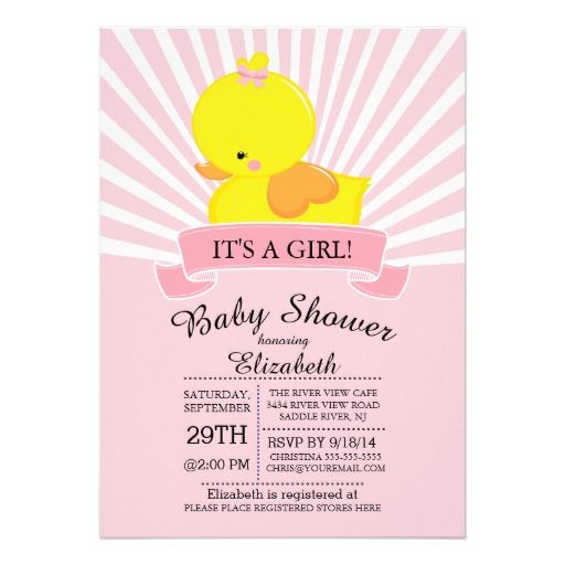 Best Duck Baby Shower Invitations Images On   Baby