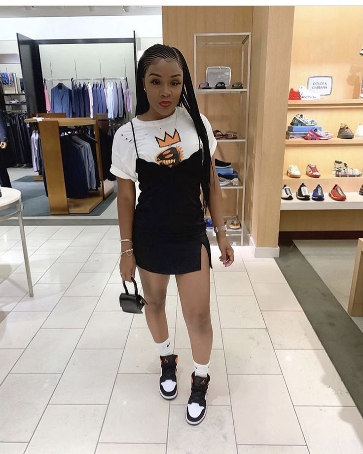 baddie black outfits