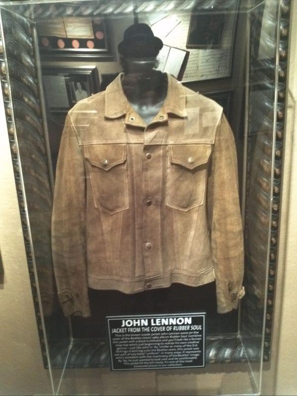 John Lennon's 'Rubber Soul' jacket | Memorabilia | Pinterest