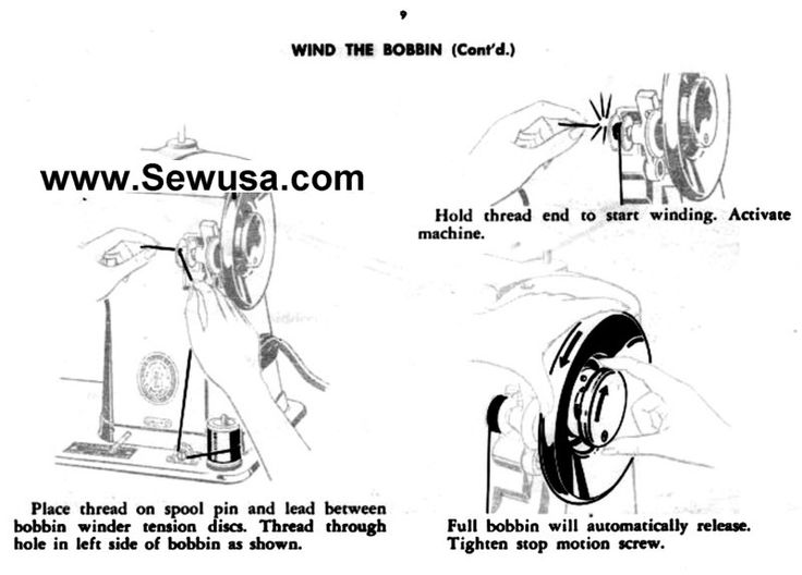 singer 401 sewing machine threading diagram