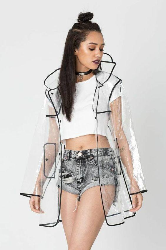 Верхняя одежда из прозрачной ткани | Clothing inspiration